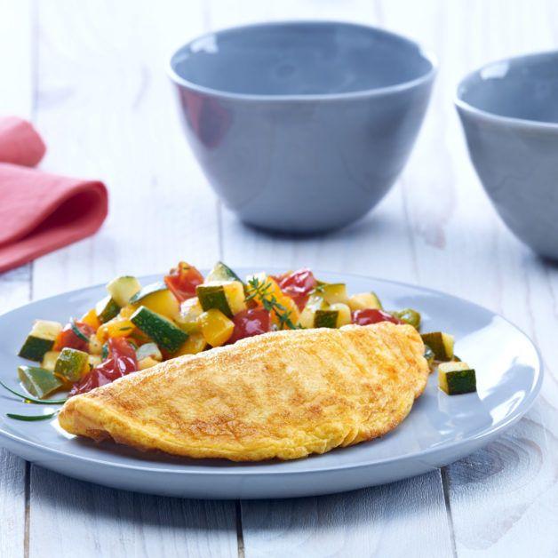 Frozen half-moon plain omelette | Cocotine