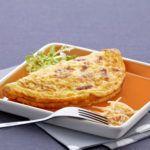 Halbmond-omelett mit zutat | Cocotine