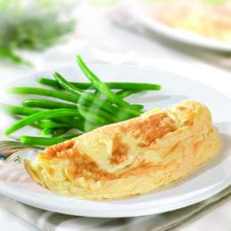 Frozen gourmet plain omelette