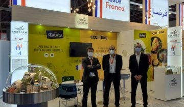 Cocotine war bei der Gulfood-Messe in Dubai!