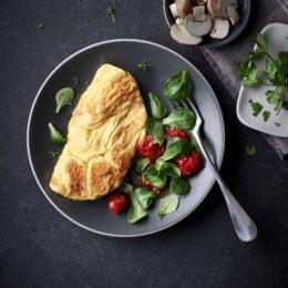Omelette gastronome nature surgelée