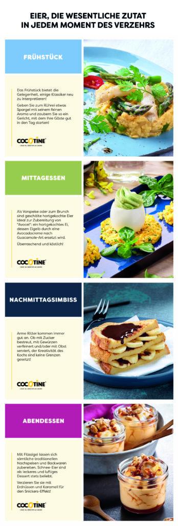 Foodservice: Eiprodukte für alle Verzehrmomente   Cocotine