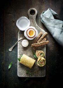 Weichgekochtes Ei & Egg Wrap | Cocotine
